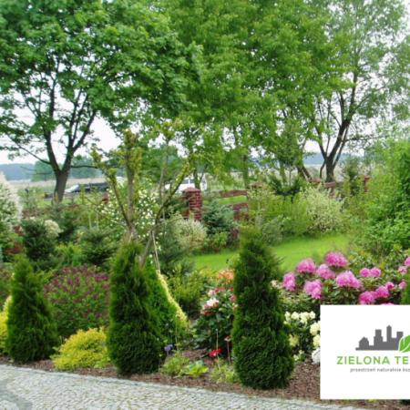 ogród rodzinny pod Opolem
