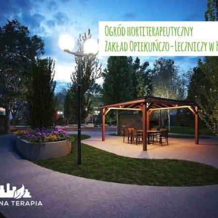 ogrod hortiterapeutyczny Zielona Terapia 5 450x450 - Ogród hortiterapeutyczny - Zakład Opiekuńczo–Leczniczy w Krakowie
