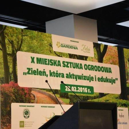 Gardenia 2016 nagroda Zielona Terapia 1 450x450 - Nagroda wyróżnienia za projekt Leśny Park Zmysłów