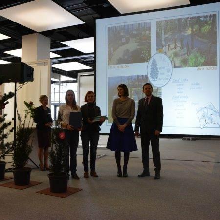 Gardenia 2016 nagroda Zielona Terapia 10 450x450 - Nagroda wyróżnienia za projekt Leśny Park Zmysłów