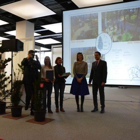 Gardenia 2016 nagroda Zielona Terapia 9 450x450 - Nagroda wyróżnienia za projekt Leśny Park Zmysłów