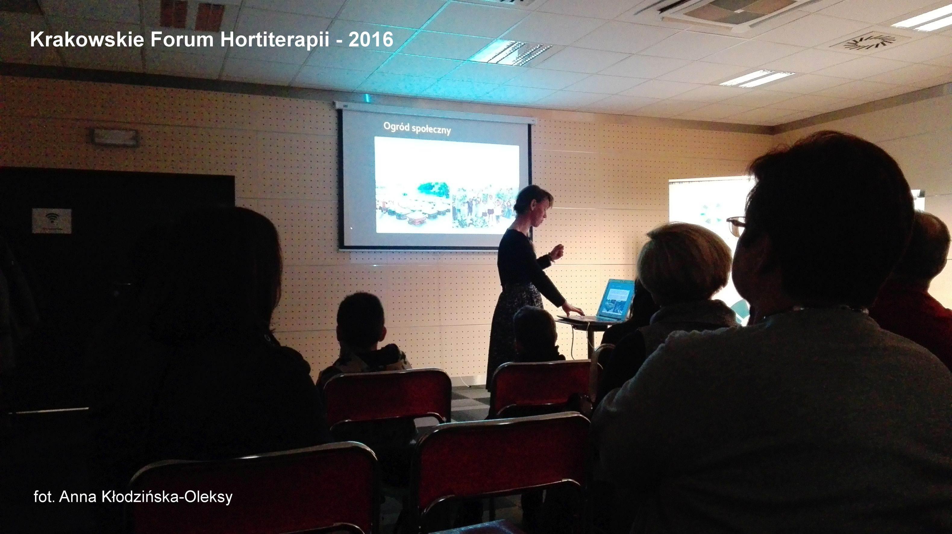 Krakowskie Forum Hortiterapii
