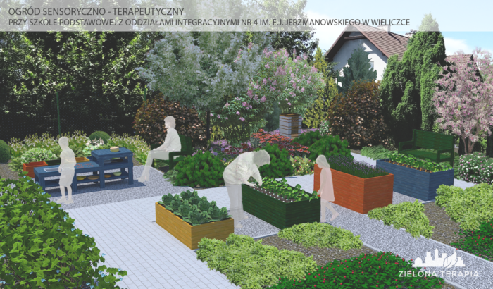 Wieliczka Szkola4 Wizualizacja2 s 700x410 - Ogród Zmysłów – Wieliczka