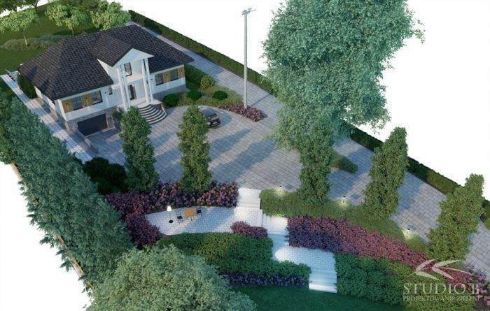 wiz Biskupice 1 700x445 - Ogród w stylu glamour