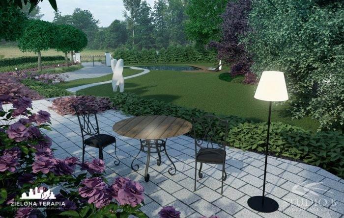 wiz Biskupice 2 700x445 - Ogród w stylu glamour