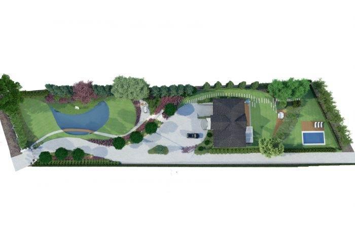 wiz Biskupice 6 700x445 - Ogród w stylu glamour