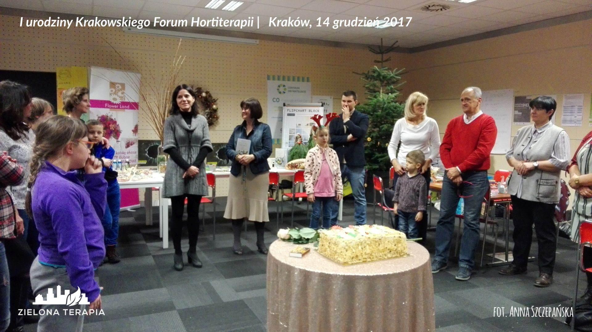 I urodziny Krakowskiego Forum Hortiterapii