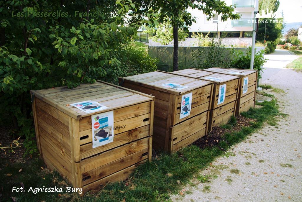 Zielona Terapia eko osiedle 13 - Eko-osiedle| Les Passerelles, Annecy, Francja