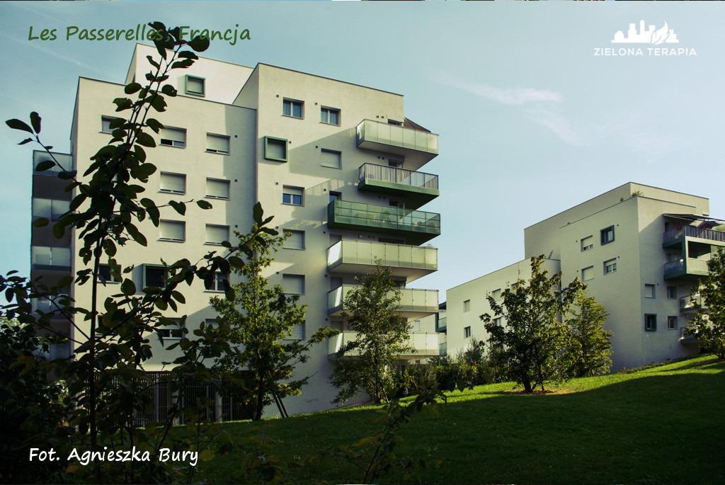 Zielona Terapia eko osiedle 2 - Eko-osiedle| Les Passerelles, Annecy, Francja