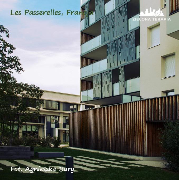 Zielona Terapia eko osiedle 4b - Eko-osiedle| Les Passerelles, Annecy, Francja