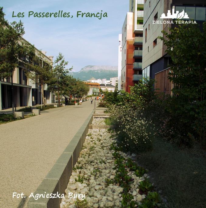 Zielona Terapia eko osiedle 6b - Eko-osiedle| Les Passerelles, Annecy, Francja