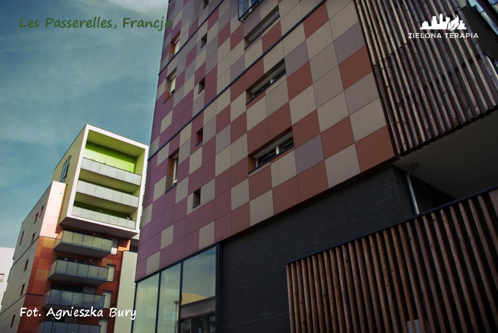 Zielona Terapia eko osiedle 7 - Eko-osiedle| Les Passerelles, Annecy, Francja