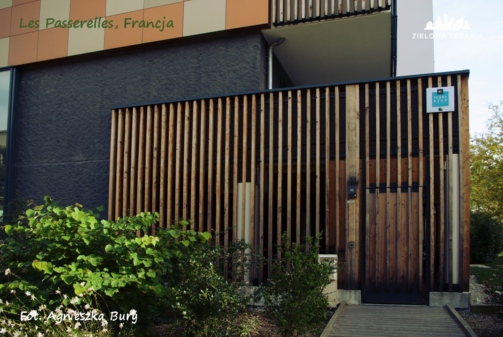 Zielona Terapia eko osiedle 8 - Eko-osiedle| Les Passerelles, Annecy, Francja
