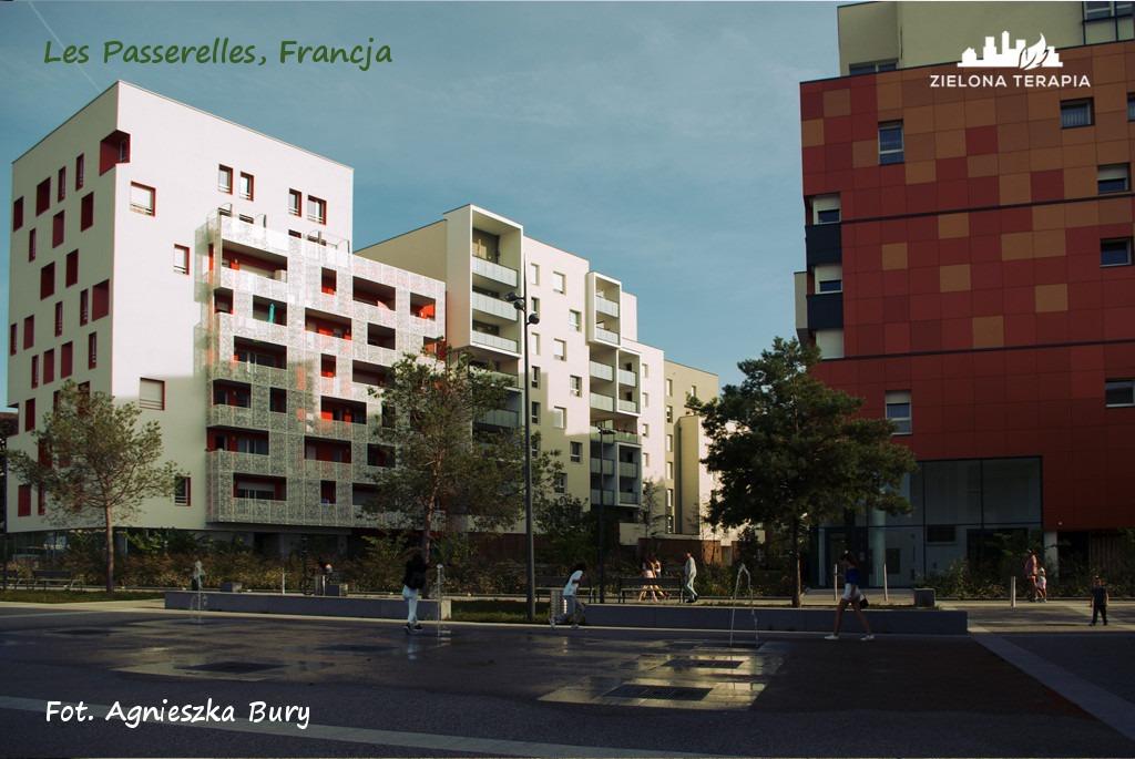 Zielona Terapia eko osiedle 9 - Eko-osiedle| Les Passerelles, Annecy, Francja