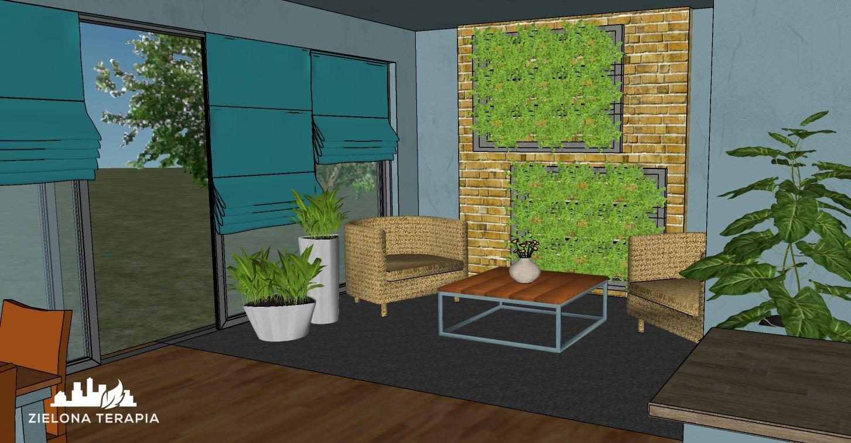 biuro Magda 2 1 - Projekt zieleni biurowej