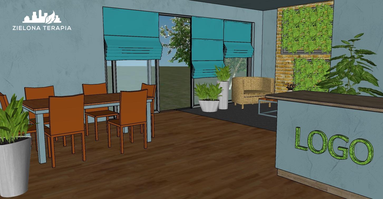 biuro Magda 3 1 - Projekt zieleni biurowej
