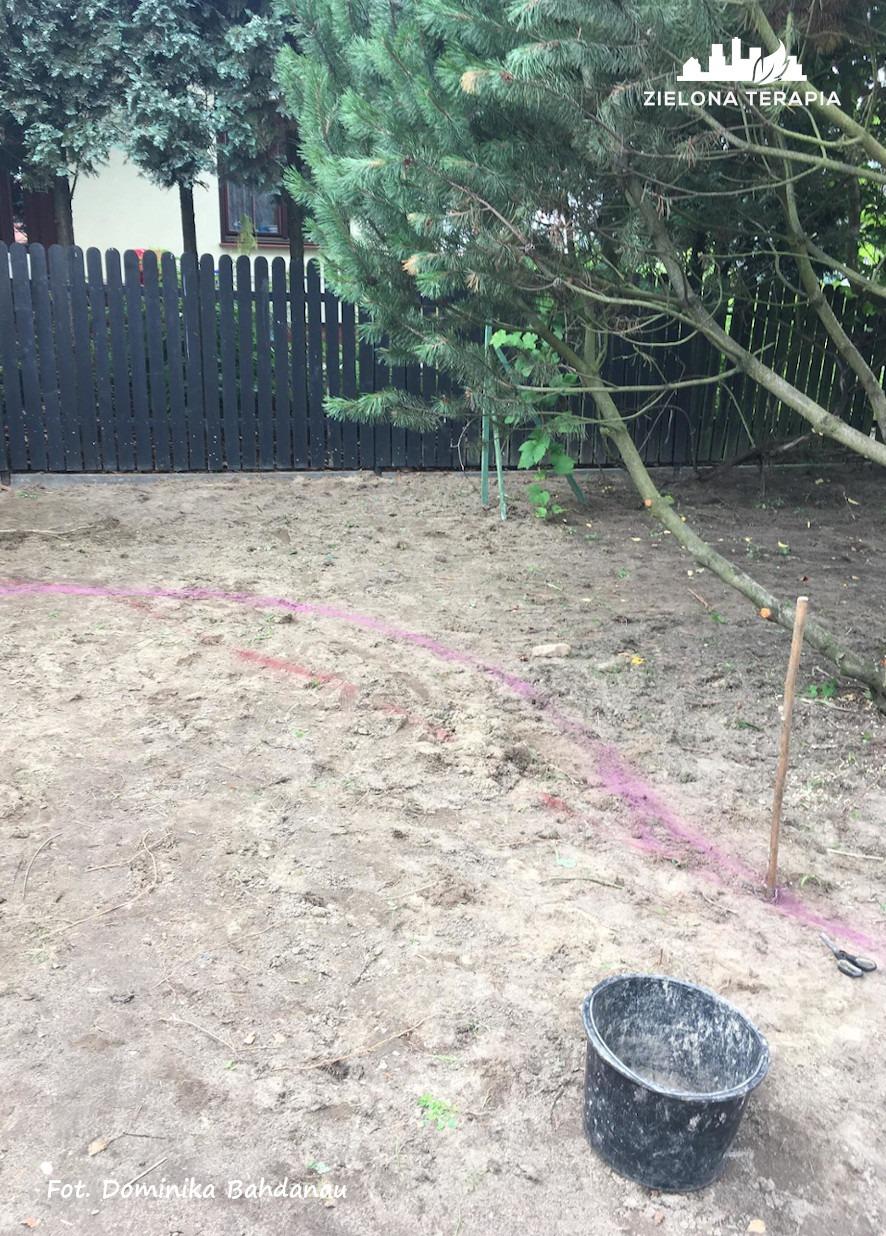 Lusina 3 p - Ogród przydomowy - modernizacja