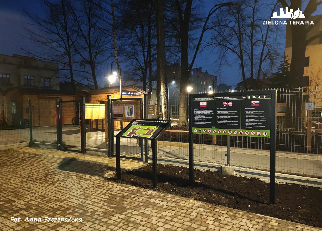 ogrod sensoryczny Cz Dz R1 12 - Ogród edukacyjno–sensoryczny MDK